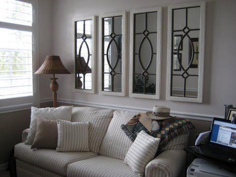 Beste 25 Spiegel über der Couch Ideen - #abovecouch #beste #couch .