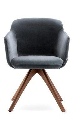 Sitzmöbel – grauer gelegentlicher Stuhl | Wohnzimmer stühle .