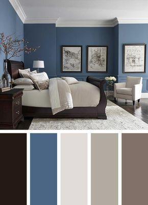 Diese Schlafzimmer-Farbideen sind ein absolutes Set-Booster. Wach .