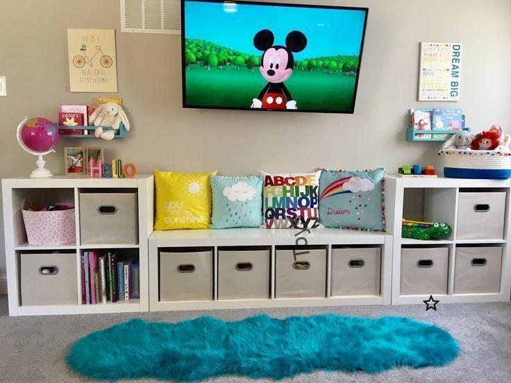 Herausragende Projekte im Spielzimmer. Speicherlösungen #Playroom .