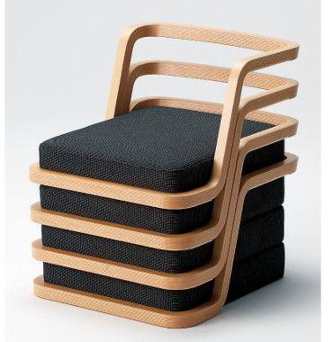 Stuhl aus Holz #stuhl #chair #designinspiration #chairdesign .