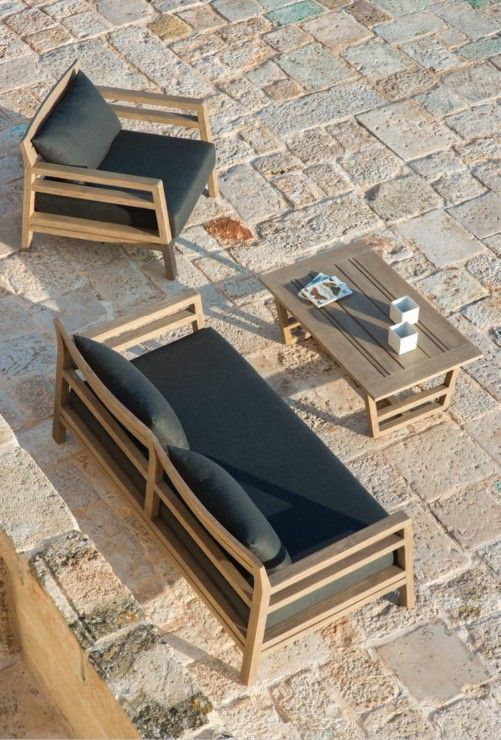 Pin von Pauline Wever auf Outdoor Furniture | Lounge sessel garten .