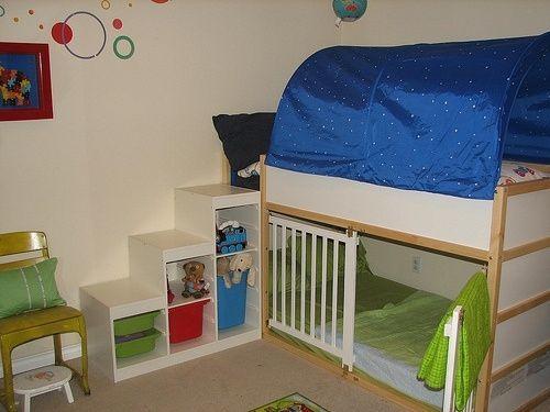 Bildergebnis für kura Bett mit Krippe darunter, #Bett .