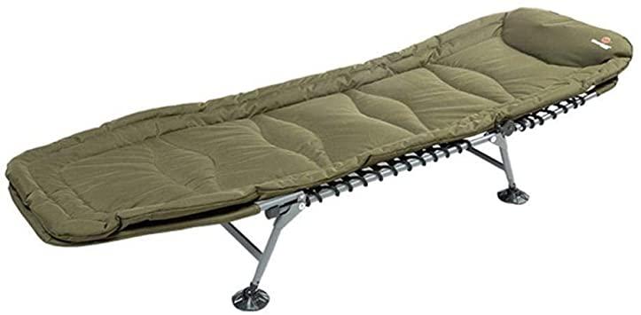 COOYT Tragbarer Fischen-Bett-Stuhl mit Matratze, faltender .
