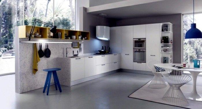 ▷ 1001+ Ideen zum Thema Küche streichen - neuste Farbtendenzen .