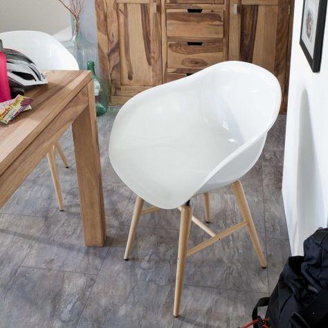 weißer Stuhl 119€ auch in blau gelb und rot vorhanden | YES ... i .