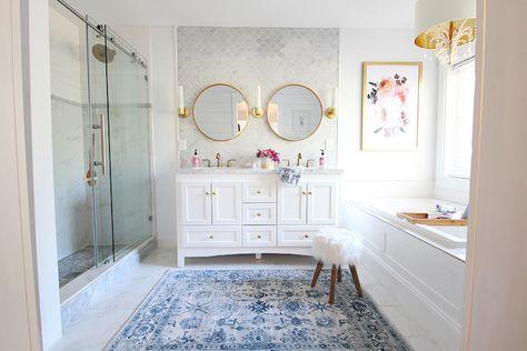 Badideen - beliebte Badezimmer-Trends! - Archzine.net | Badezimmer .