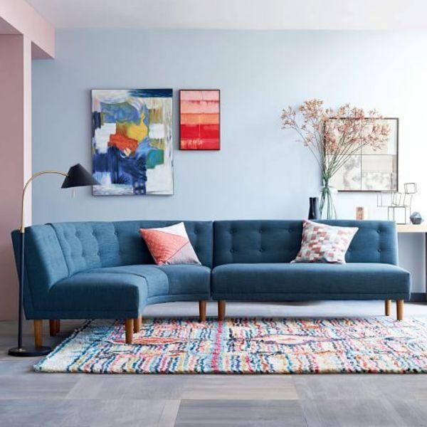 Ecksofa - 105 wunderbare Modelle für Ihre Wohnung! - Archzine.net .