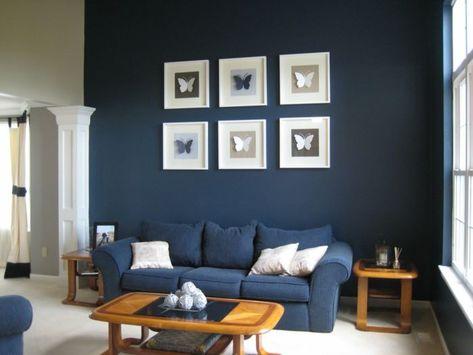Blaues Sofa 50 Einrichtungsideen mit Sofa in Blau die sehenswert .