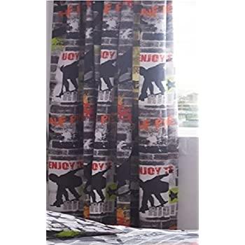 Amazon.de: Kidz Club Bleistiftfaltenvorhänge, gebrauchsfertig .
