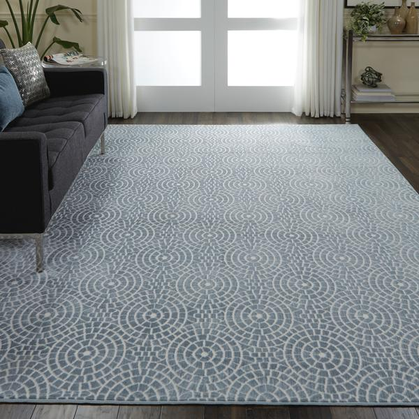 Nourison Urban Chic URC04 Light Blue Area Rug – Incredible Rugs .