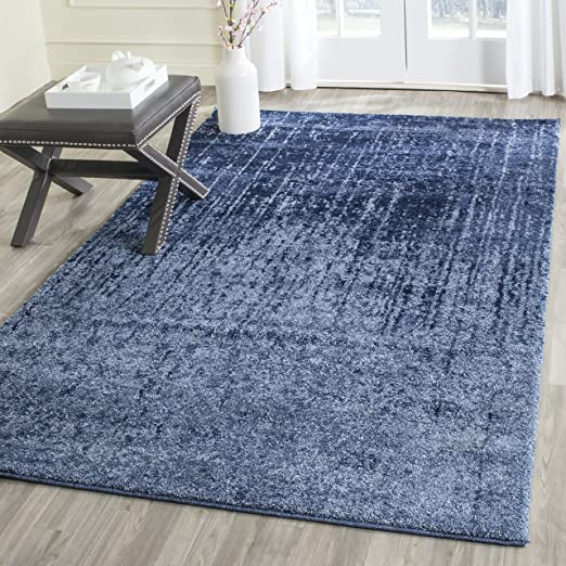Amazon.com: Safavieh Retro Collection RET2770-6065 Light Blue and .