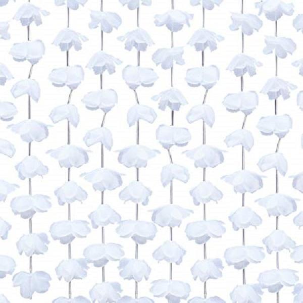 Blumenvorhang weiß | Eventverlie