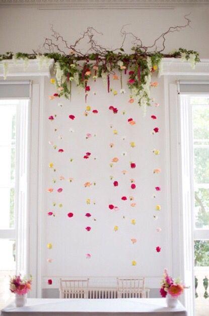Hintergrund - Tülay Tunçer | Blumenvorhang, Gastgeschenke hochzeit .