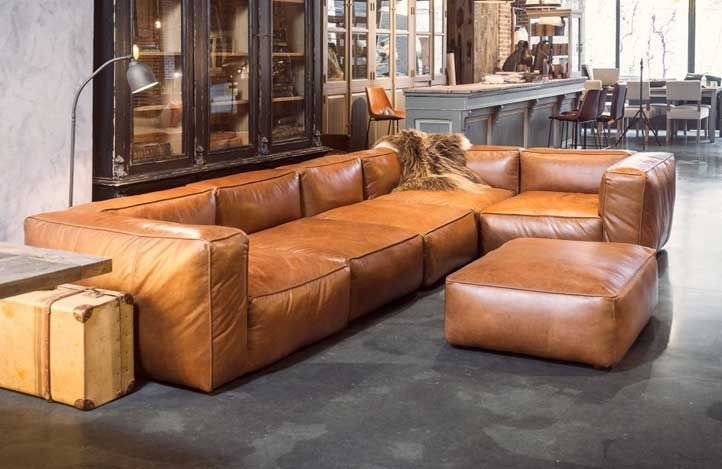 Bild von Irina Fehn auf Couch | Sofa leder braun, Sofa design .