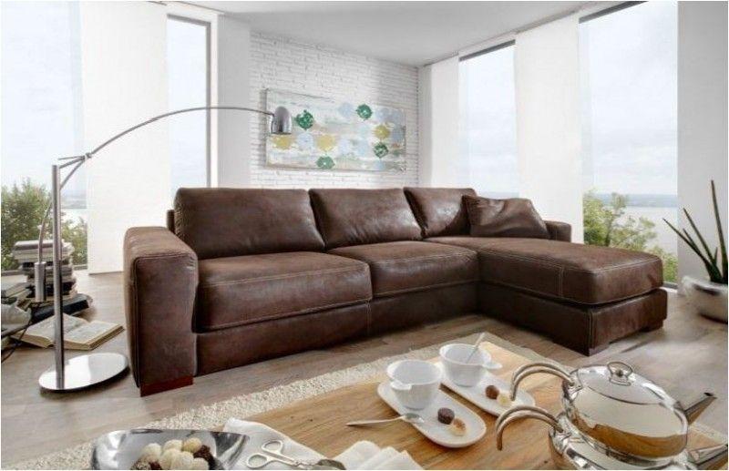 Westanker B.V. Leder-Eckgarnitur Sofa Couch Eckcouch Leder .