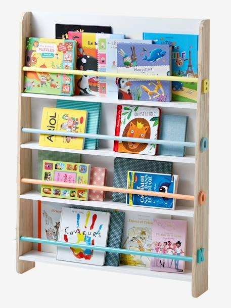 """Vertbaudet Bücherregal ,,Books"""" für Kinder in weiß/nat"""