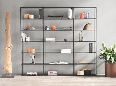 Bücherregal Easy Irony von Zeus - Schwarz | Made In Desi