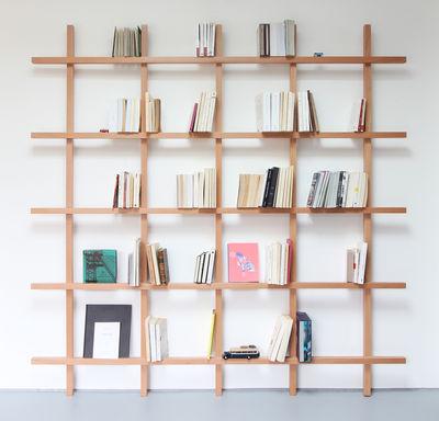 Bücherregal Mike von Compagnie - Holz natur | Made In Desi