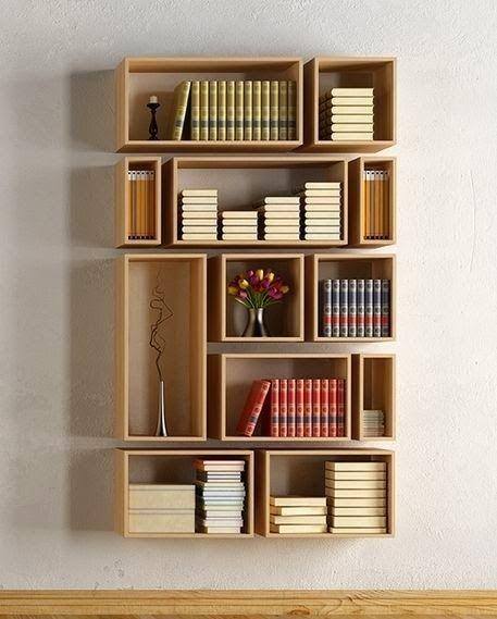 9 kreative Ideen für dein Bücherregal | Intarsia holzbearbeitung .