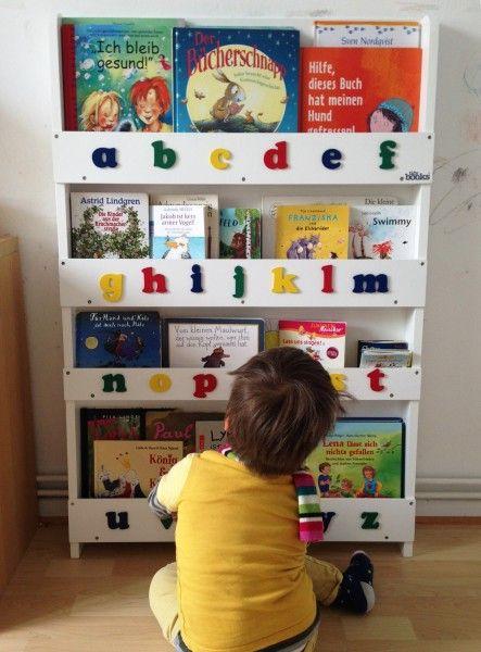 Im Geschwister-Kinderzimmer schaffen mit Bücherregal - Mama notes .