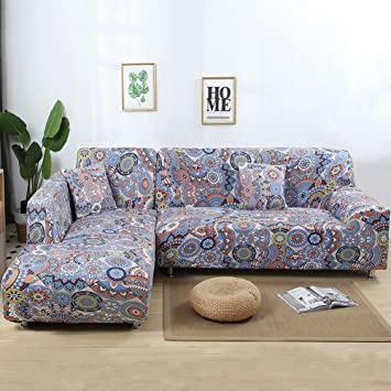 Amazon.de: Jian Ya NA Stretch Sofabezüge Polyester Spandex Stoff .