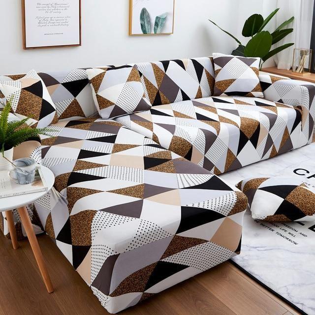 Eight Dream L-shaped SofaJacket™ | Schonbezug, Sofahussen, Bunte möb