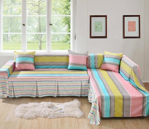 Sofabezüge für Ecksofa - 25 schöne Vorschläge - Archzine.n