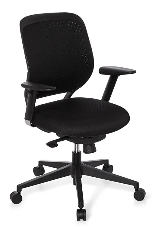 hjh OFFICE 707000 Bürostuhl / Chefsessel Elegance Base, schwarz .