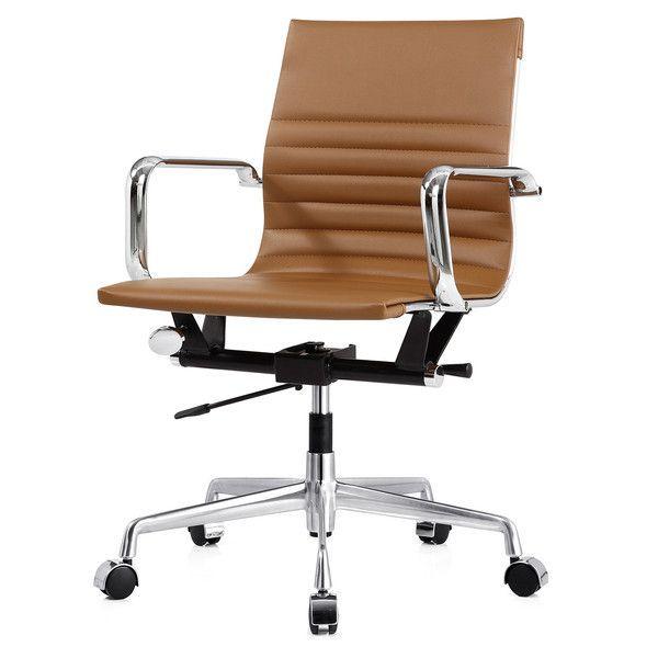 M348 Bürostuhl aus veganem Leder in 2020 | Luxury office chairs .