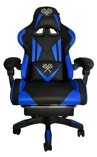 Gaming Stuhl Bürostuhl Schreibtischstuhl mit Fußstützen Kissen .
