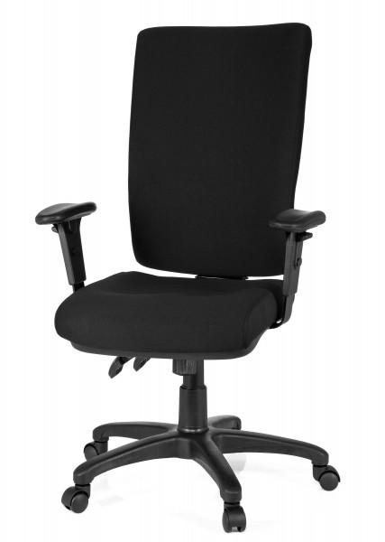 Bümö® Bürostuhl Pinocchio XL - mit bequemen Polsterbezug hier .