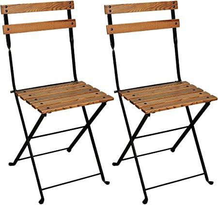 Amazon.com : Mobel Designhaus French Café Bistro Folding Side .