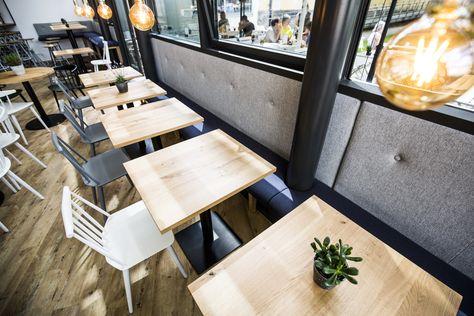 Bellevue - Café - Restaurant - Bar - Interior Design - Studio Yaya .