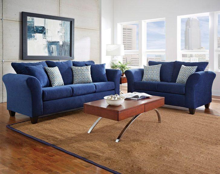 Blue Chenille Sofa Bassett Navy Sofabassett Sofanavy Design .