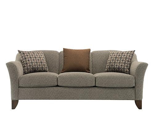 Meyer Chenille Sofa - Unique Granite | Raymour & Flanig