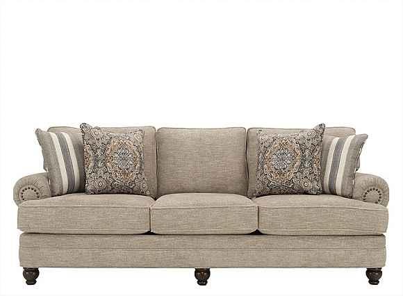 Tifton Chenille Sofa - Handwoven Linen | Raymour & Flanig