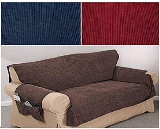 Amazon.com: Trenton Gifts Anti-Slip Machine Washable Chenille Sofa .