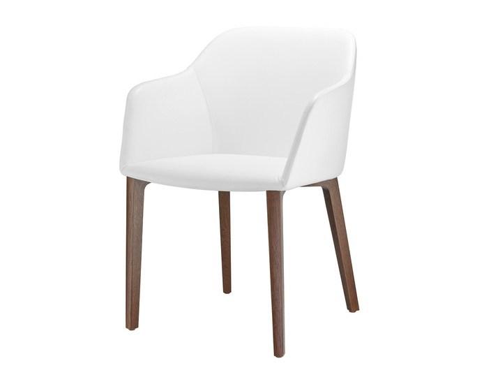 FINA CLUB | Stuhl aus Leder By Brunner Design Wolfgang C.R. Mezg