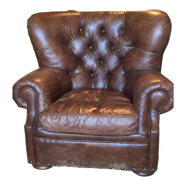 Leder Club Chair für zusätzliche Attraktivität – dekor .