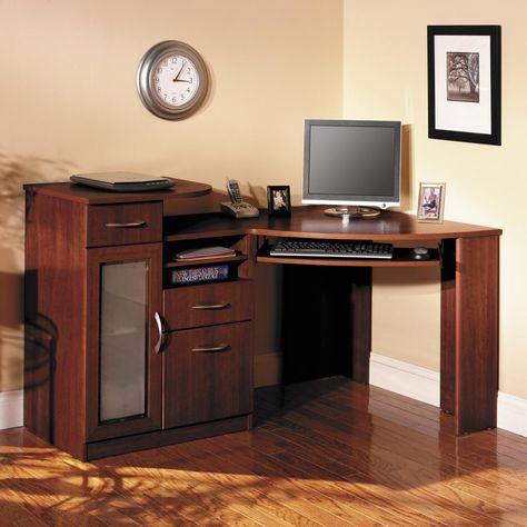 kleine Eck computer Schreibtisch, große home office Möbel Wand .