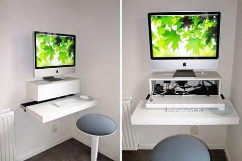 15+ DIY Computer Tisch Tutorials für Ihr Heimbüro | Schreibtisch .