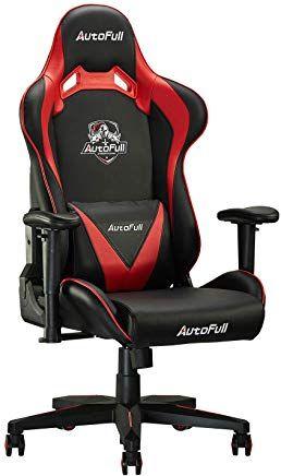 AutoFull Gaming Stuhl Computerstuhl Kunstleder BÃrostuhl .