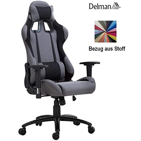 Delman Racing Bürostuhl Schreibtischstuhl Gaming Chair Drehstuhl .
