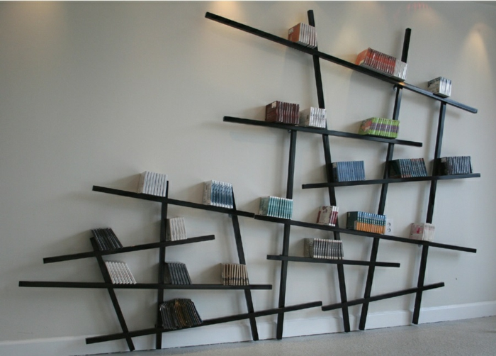 Coole Regalsysteme und Bücherregale hauchen dem Interieur Leben e