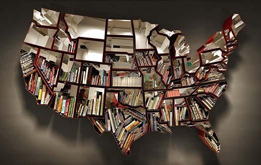5 ausgefallene Bücherregale, die cooler sind als Bil