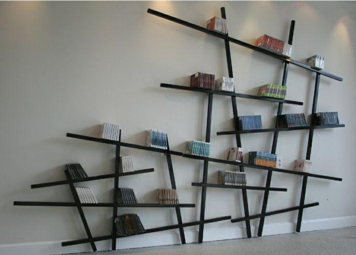 Coole Regalsysteme und Bücherregale hauchen dem Interieur Leben .