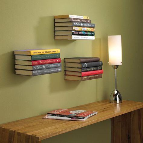 15 coole Wand-Bücherregale für Ihre Lieblings-Reads #bucherregale .