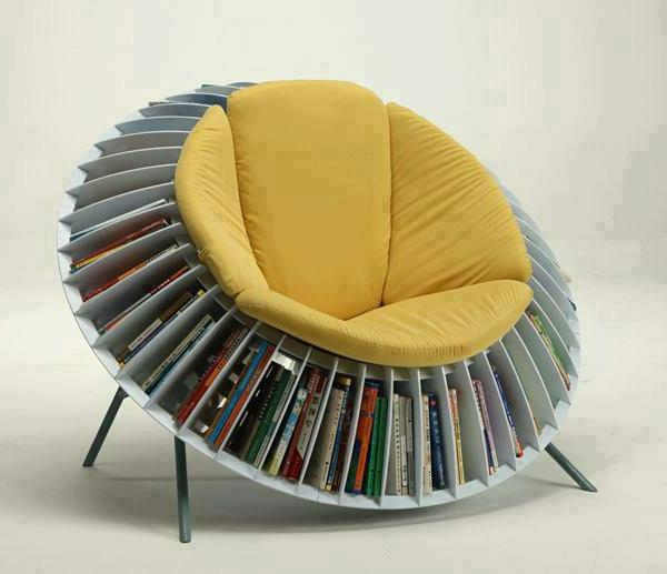 Coole Wohnideen - 10 ausgefallene und praktische Bücherrega