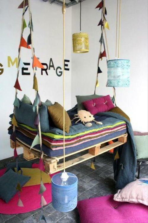 Coole Möbel aus Europaletten - 55 Bastelideen für alte .